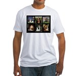 Cavalier Famous Art Comp1 Fitted T-Shirt