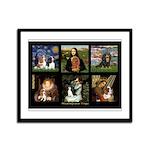 Cavalier Famous Art Comp1 Framed Panel Print