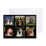 Cavalier art Greeting Cards (10 Pack)