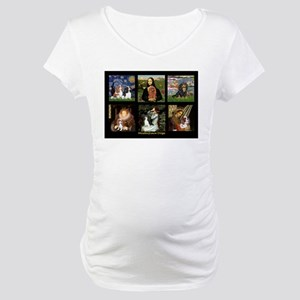 Cavalier Famous Art Comp1 Maternity T-Shirt