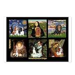 Cavalier Famous Art Comp1 Postcards (Package of 8)