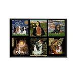 Cavalier Famous Art Comp1 Rectangle Magnet (10 pac