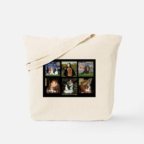 Cavalier Famous Art Comp1 Tote Bag