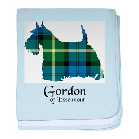 Terrier - Gordon of Esselmont baby blanket