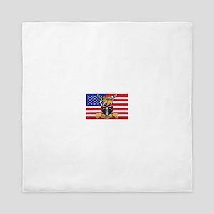 U.S.A. Rhodesia Flag Queen Duvet