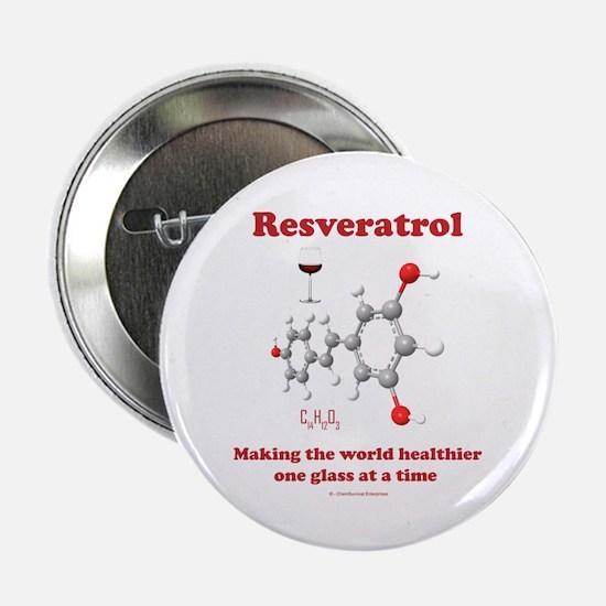 "Resveratrol 2.25"" Button"