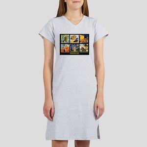 Dachshund Famous Art 1 Women's Nightshirt
