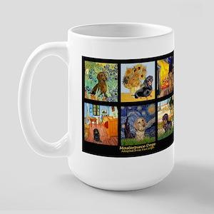Dachshund Famous Art 1 Large Mug