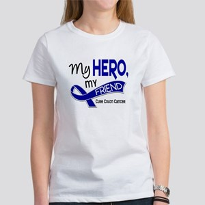 My Hero Colon Cancer Women's T-Shirt