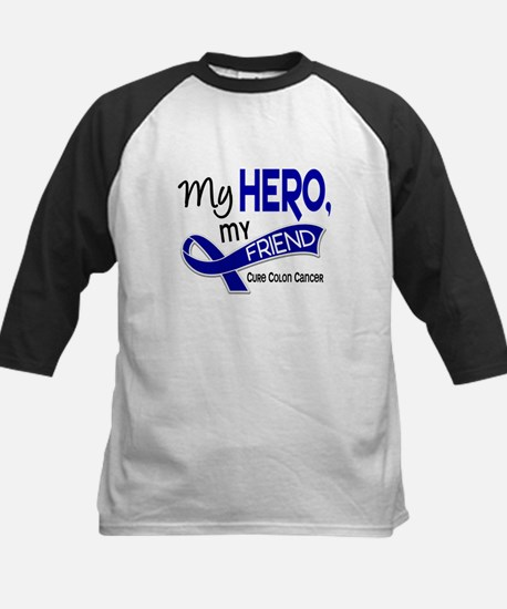 My Hero Colon Cancer Kids Baseball Jersey