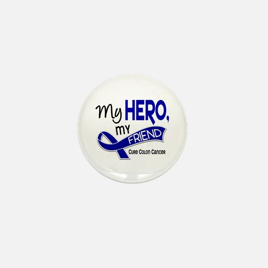My Hero Colon Cancer Mini Button