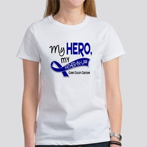 My Hero Colon Cancer Women's T-Shirt