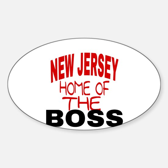 New Jersey Home of Decal
