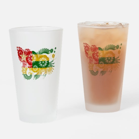 Togo Flag Drinking Glass