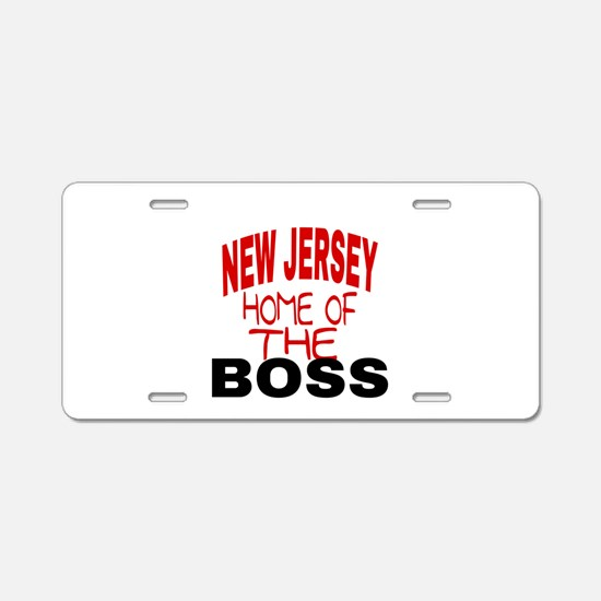 New Jersey Home of Aluminum License Plate