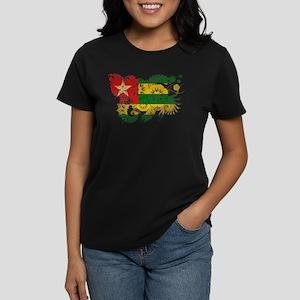 Togo Flag Women's Dark T-Shirt
