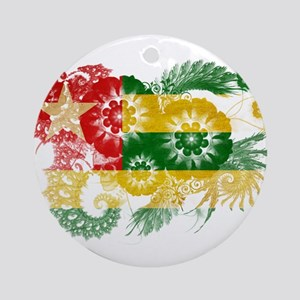 Togo Flag Ornament (Round)