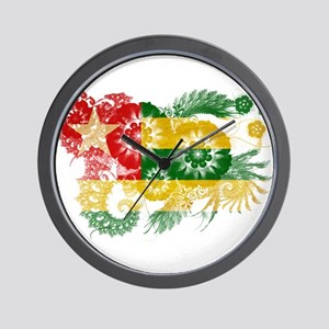 Togo Flag Wall Clock