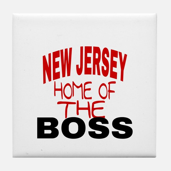 New Jersey Home of Tile Coaster