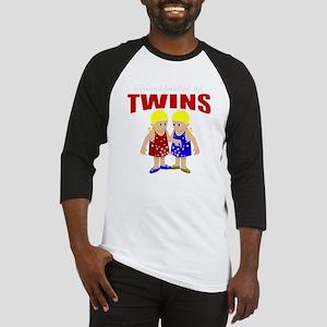 Grandfather of twins Baseball Jersey