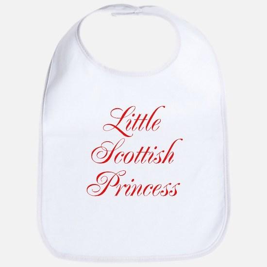 Little Scottish Princess Bib
