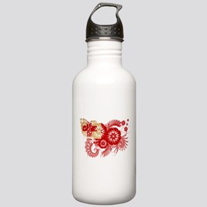 Tonga Flag Stainless Water Bottle 1.0L