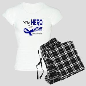 My Hero Colon Cancer Women's Light Pajamas