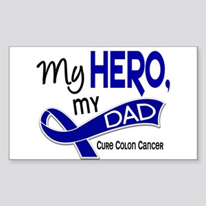 My Hero Colon Cancer Sticker (Rectangle)