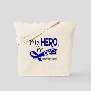 My Hero Colon Cancer Tote Bag