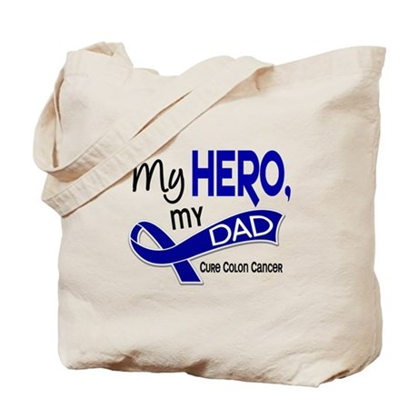 My Hero Colon Cancer Tote Bag