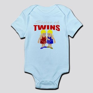 Sister of twins Infant Bodysuit