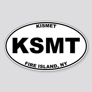Kismet Fire Island Sticker (Oval)