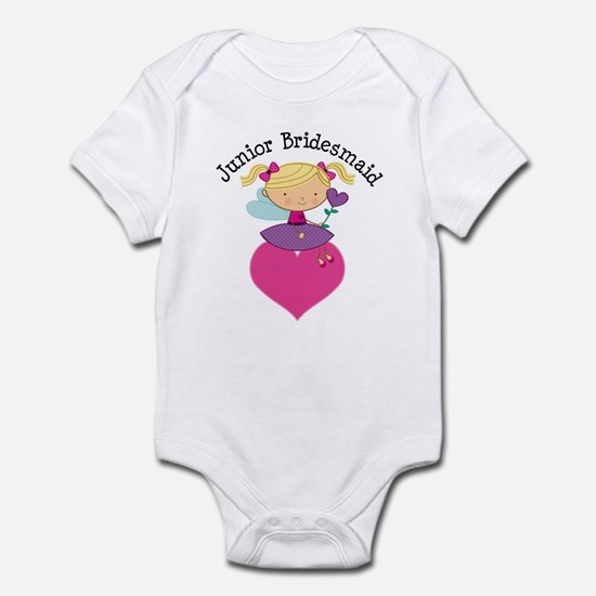 Junior Bridesmaid Fairy Wedding Infant Bodysuit