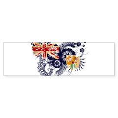 Turks and Caicos Flag Sticker (Bumper 10 pk)