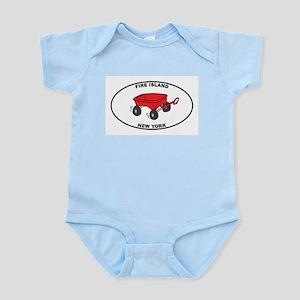 Fire Island Wagon Infant Bodysuit
