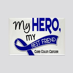 My Hero Colon Cancer Rectangle Magnet