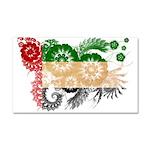 United Arab Emirates Flag Car Magnet 20 x 12