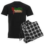 United Arab Emirates Flag Men's Dark Pajamas