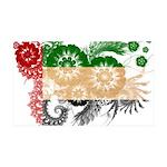 United Arab Emirates Flag 38.5 x 24.5 Wall Peel