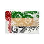 United Arab Emirates Flag Rectangle Magnet (100 pa