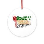 United Arab Emirates Flag Ornament (Round)