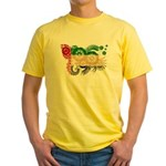 United Arab Emirates Flag Yellow T-Shirt