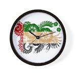 United Arab Emirates Flag Wall Clock