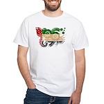 United Arab Emirates Flag White T-Shirt