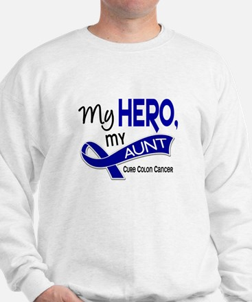 My Hero Colon Cancer Sweatshirt