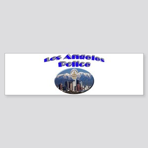 LAPD Skyline Sticker (Bumper)