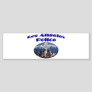 LAPD Skyline Sticker (Bumper)