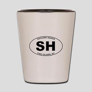 Saylors Haven Fire Island Shot Glass