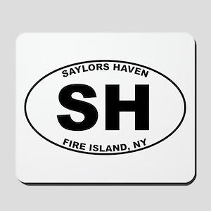 Saylors Haven Fire Island Mousepad