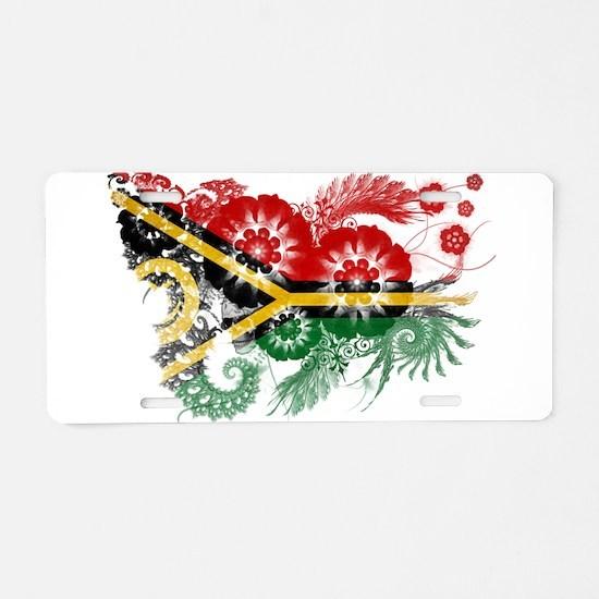 Vanuatu Flag Aluminum License Plate
